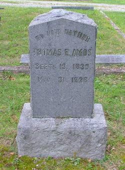Pvt Thomas Edwin Amos