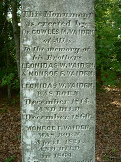 Monroe Franklin Vaiden
