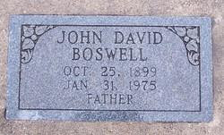 John David Johnnie Boswell