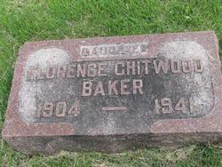 Florence <i>Chitwood</i> Baker