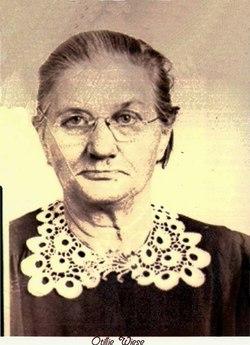 Ottilie E <i>Schmidt</i> Wiese