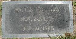 Walter Holliday