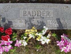 Marie D. Badder