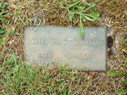 John M Thomason