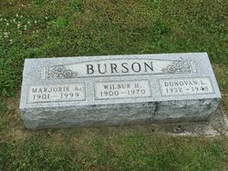 Marjorie Alma <i>Slick</i> Burson