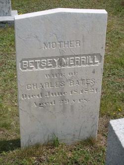Betsey <i>Merrill</i> Bates