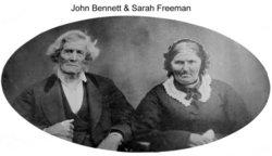 Sarah <i>Freeman</i> Bennett