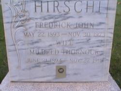 Fredrick John Hirschi