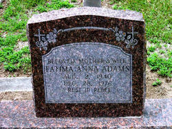 Fatima Anna Adams