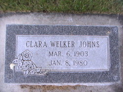 Clara <i>Welker</i> Johns
