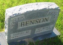 Edith Marie <i>Harmon</i> Benson