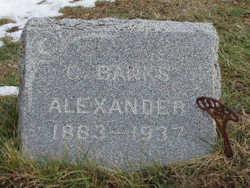George Banks Alexander