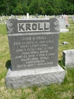 Mary <i>Lewis</i> Kroll