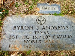 Sgt Byron Junior Andrews