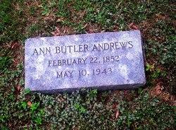 Ann Winston <i>Butler</i> Andrews