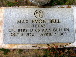 Corp Max Evon Bell