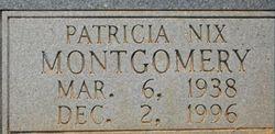 Patricia <i>Nix</i> Montgomery