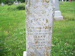 Eliza E <i>Allen</i> Belcher