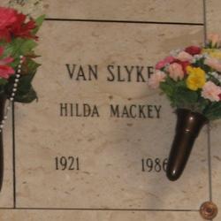 Hilda <i>Mackey</i> Van Slyke