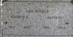 Kathryn Van Winkle