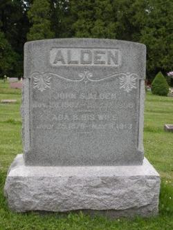 Ada Belle <i>Higgins</i> Alden