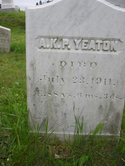 Albion Keith Parris Yeaton