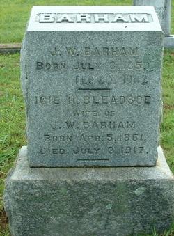 Icie Hawkins <i>Bledsoe</i> Barham