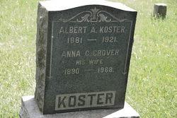 Anna C. <i>Grover</i> Koster