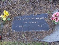 John Clifton Wemple