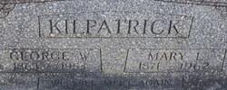 Mary Lavonia Mollie <i>Graham</i> Kilpatrick