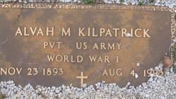 Alvah M Kilpatrick
