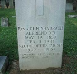 Rev John Shadrach Alfriend