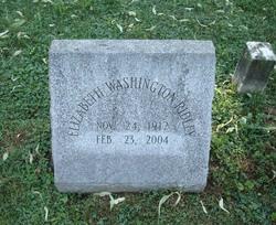 Elizabeth Washington Ridley