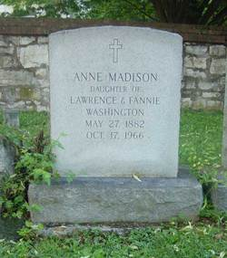 Anne Madison Washington