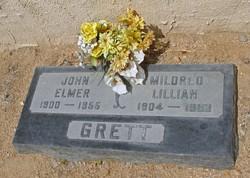 Mildred Lillian <i>Wollam</i> Grett