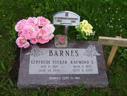 Gertrude I. <i>Tucker</i> Barnes