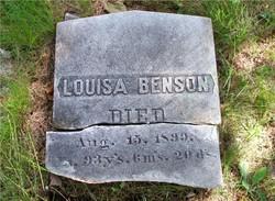 Louisa <i>DeCoster</i> Benson