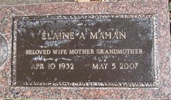 Elaine A <i>Snyder</i> Mahan