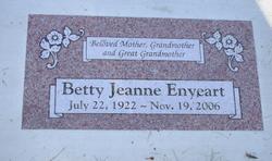 Betty Jeanne Enyeart