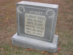 Mattie <i>Rucker</i> Cash