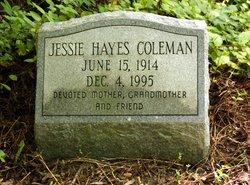 Jessie <i>Hayes</i> Coleman