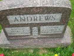 Mary E <i>Whitcomb</i> Andrews
