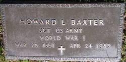 Howard L Baxter