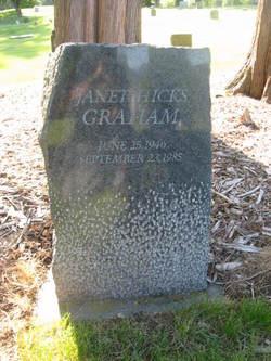 Janet <i>Hicks</i> Graham
