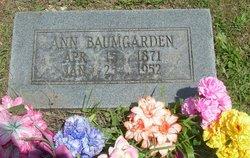 Ann Annie <i>Kauffman</i> Baumgarden