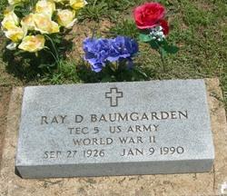 Corp Raymond Dean Baumgarden