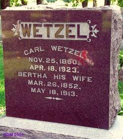 Bertha Wetzel