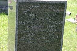 Mary B <i>VanSyckel</i> Ayers