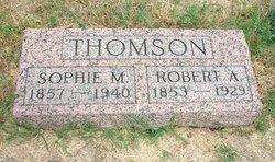 Sophia Martha Sophie <i>Depenbrink</i> Thomson
