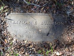 Baylor E Burleson